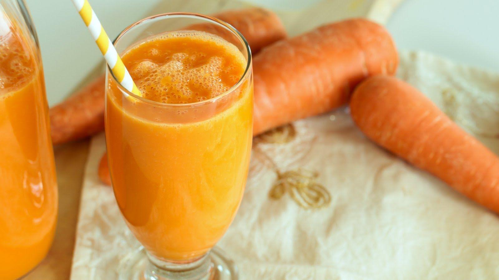 Carrot Orange Smoothie عصير الجزر و البرتقال Cookingwithalia Episode 382 Healthy Sweeteners Cooking Pumpkin Orange Smoothie