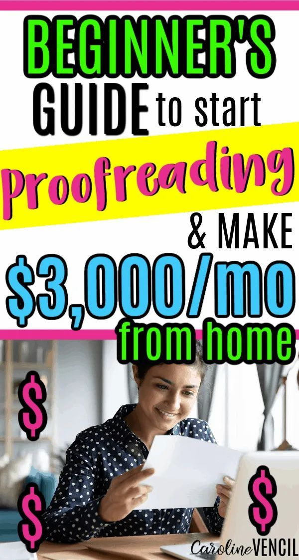 Beginners Guide to Start Proofreading and Make $3,