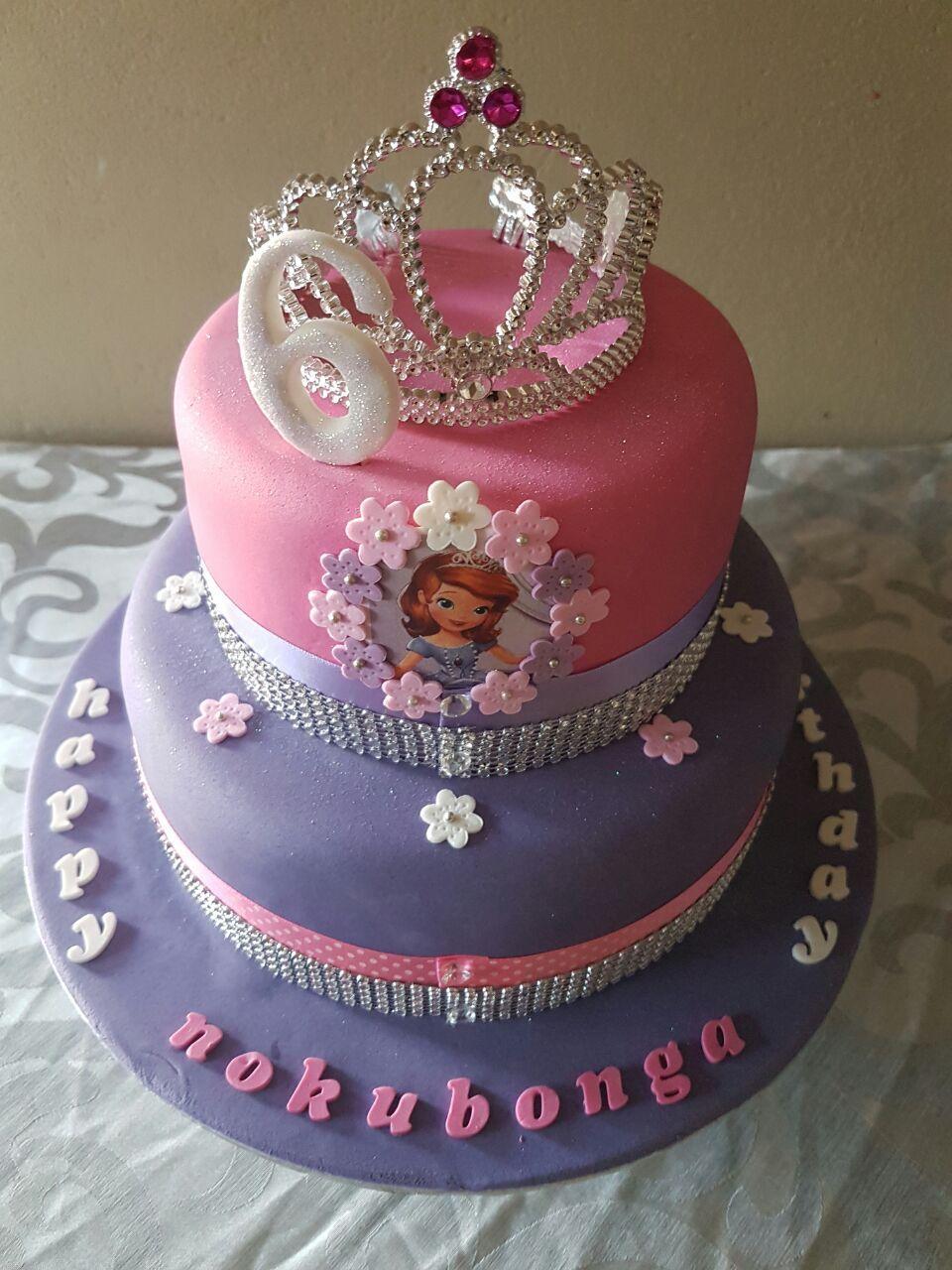 Princess Sofia birthday cake - Shonga Events | ShongaEvents | Sofia ...