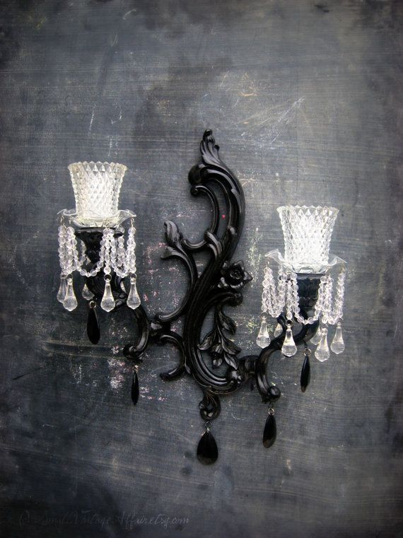 Candle Chandelier Wall Sconce Photo 2 Vintage Sconce Sconces