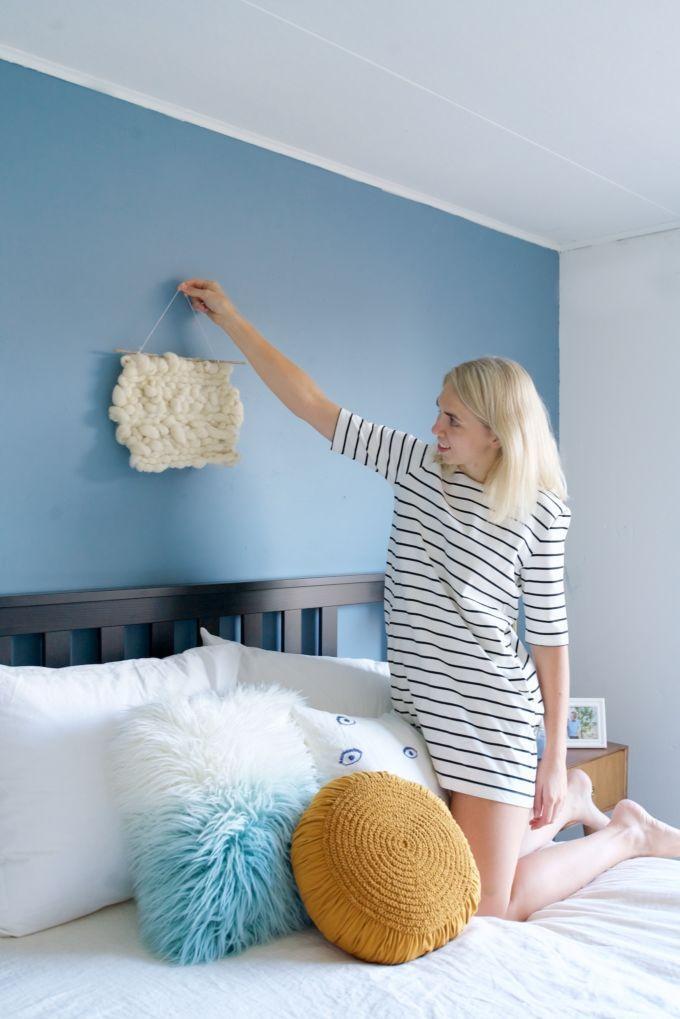 slaapkamer-make-over-met-denim-drift-shifra-jumelet-8 | Slaapkamer ...
