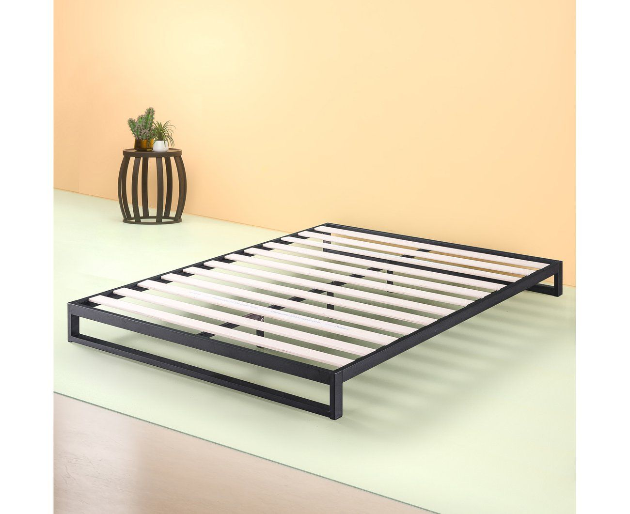 Zinus Trisha 18cm Heavy Duty Low Profile Platform Base Metal Bed