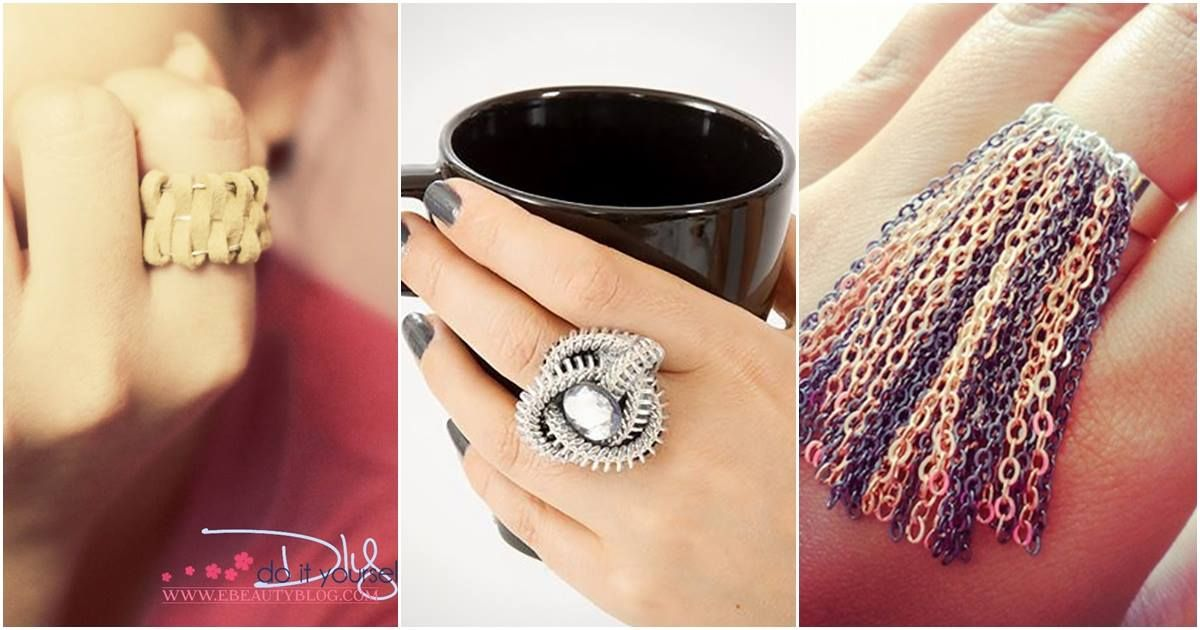 45 ideas for diy rings you will actually want to wear doityourself 45 ideas for diy rings you will actually want to wear doityourself gadget solutioingenieria Images
