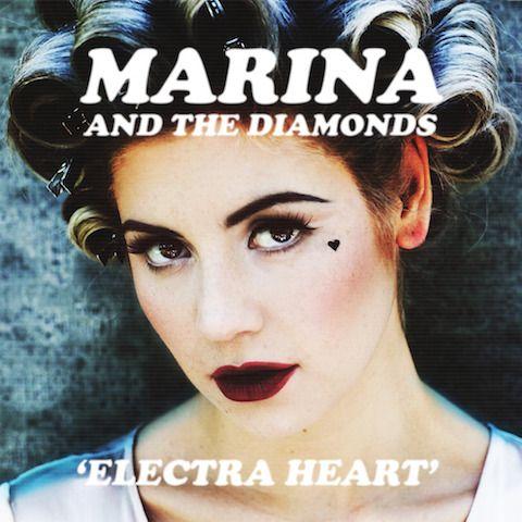 Marina And The Diamonds u0027Electra Heartu0027 LP u2014 Lost In Vinyl Best - copy jay z blueprint blue vinyl