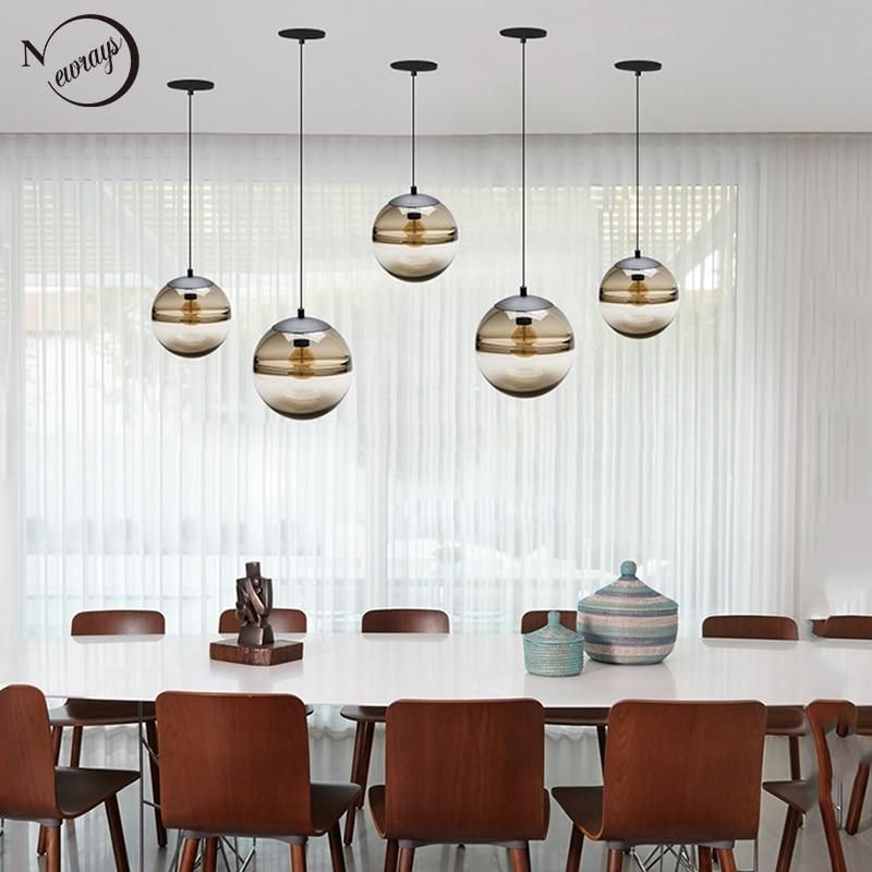 Item Type: Pendant LightsIs Dimmable: NoPlace: Hotel RoomPlace: ParlorPlace: Master BedroomPlace: other bedroomsPlace: Hotel HallPlace: StudyPower Source: ACStyle: ModernVoltage: 90-260VModel Number: YY-P405Base Type: E27Warranty: 3 yearsCertification: RoHSCertification: ceCertification: CCCLighting Area: 5-10square metersIs Bulbs Included: NoMaterial: Glass StoneInstallation Type: Cord PendantLight Source: Incandescent BulbsNumber of light sources: 1Lampshade Color: BrownBrand Name: NewraysTech