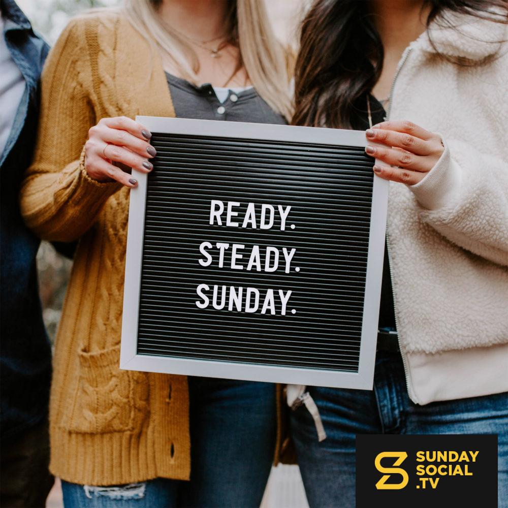 Ready Steady Sunday Sunday Social Church Media Design Church Branding Bible Encouragement