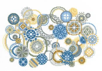 Bubbles - Cross Stitch Pattern by Imaginating