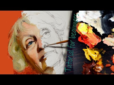 8226 how should beginners paint portraits in oils