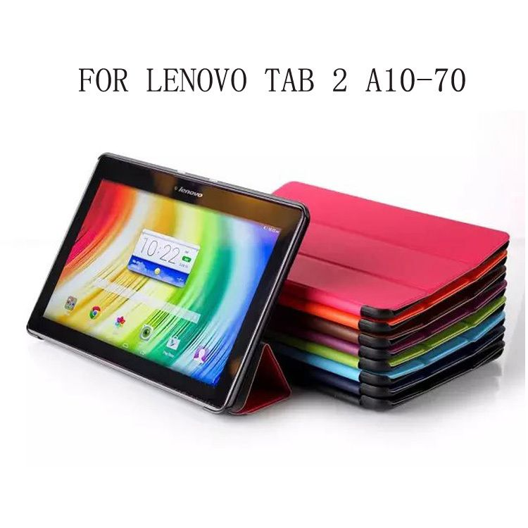 Cheap case for lenovo tab, Buy Quality inch directly from China case for  lenovo Suppliers CY Ultra Slim Cass Grain Pattern Tri Fold Folio Stand PU  Leather
