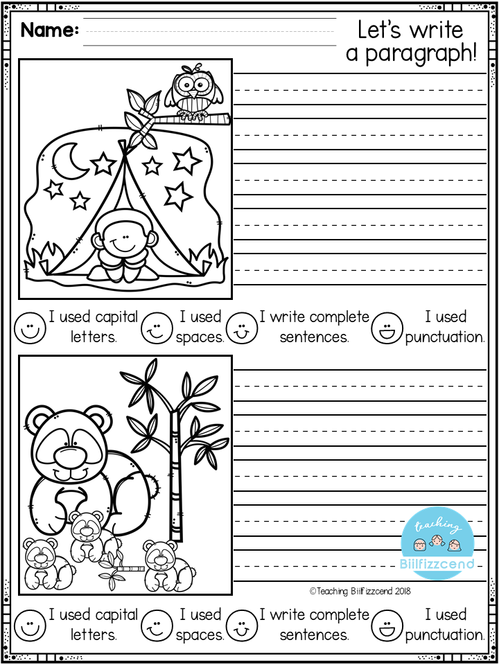 FREE First Grade Writing Activities First Grade Writing, Writing  Activities, 1st Grade Writing