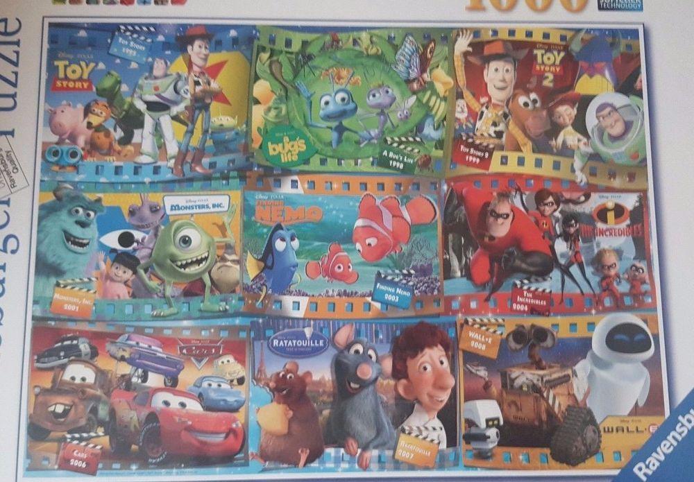 Factory sealed ravensburger puzzle disney pixar 1000