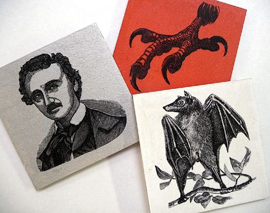 16 Halloween Craft Projects - The Graphics Fairy - coasters