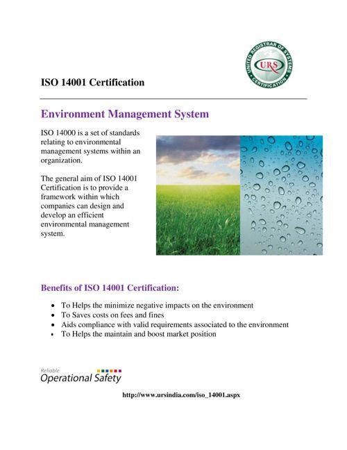 FlipSnack | ISO 14001 standard EMS by Ursindia