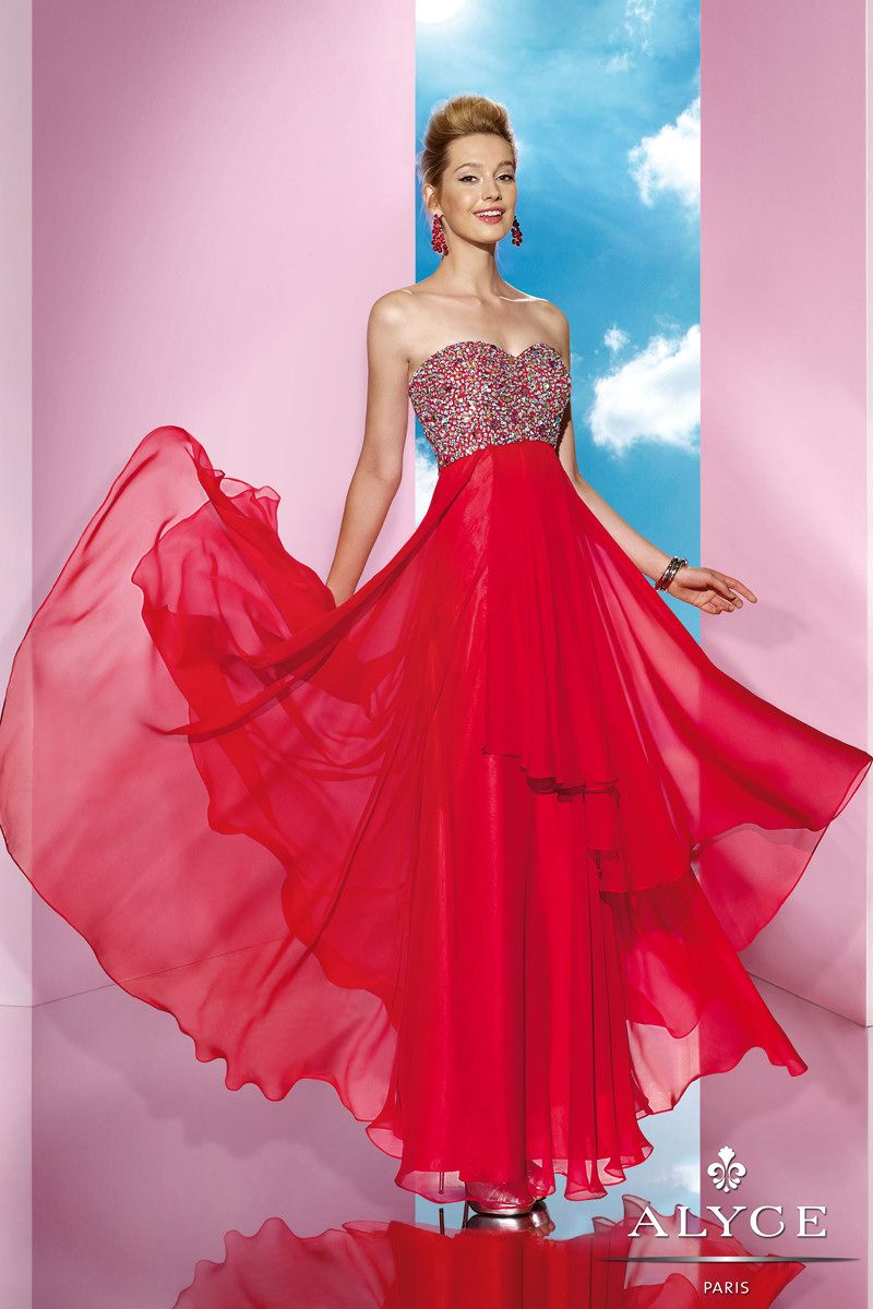 B\'Dazzle Prom Dress 35620 by Alyce Paris from SIMPLE ELEGANCE ...