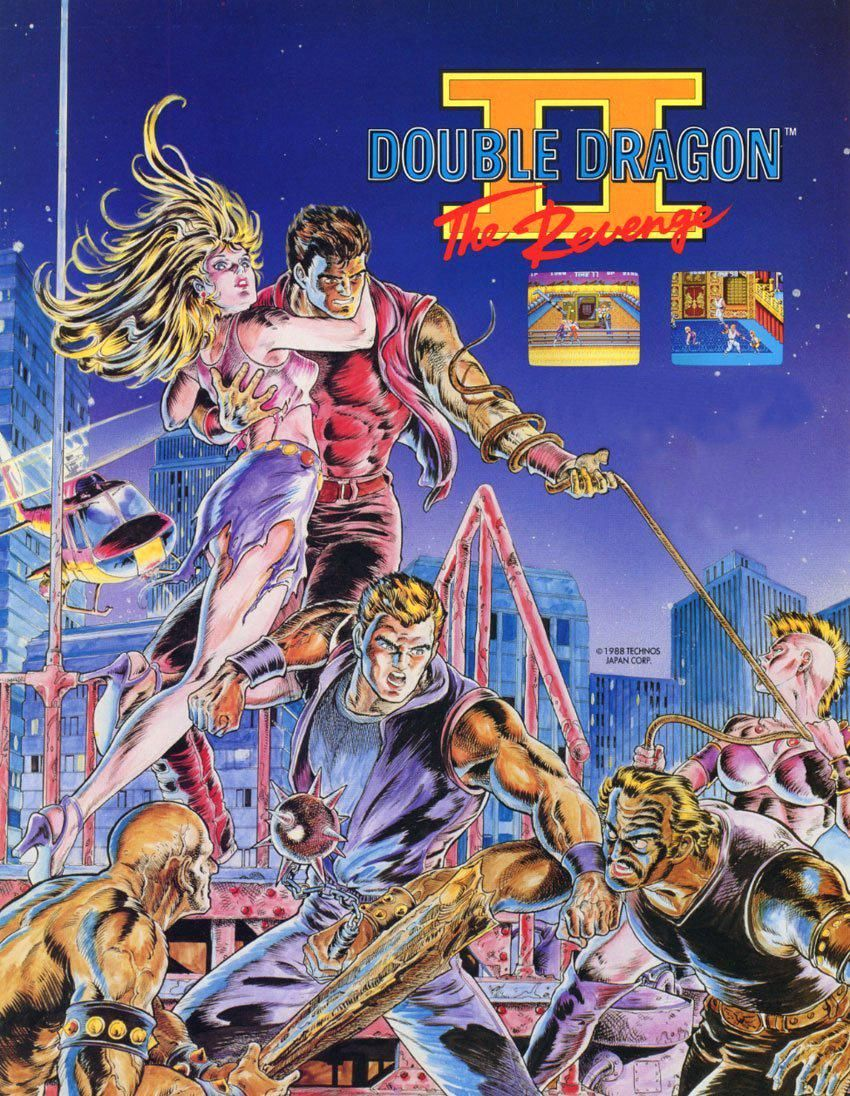 Smoke Fumus On Twitter Double Dragon History Of Video Games