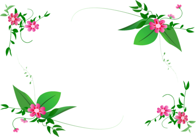 Websites Border Designs Collection Flower Frame Flower Border Png Flower Border Clipart