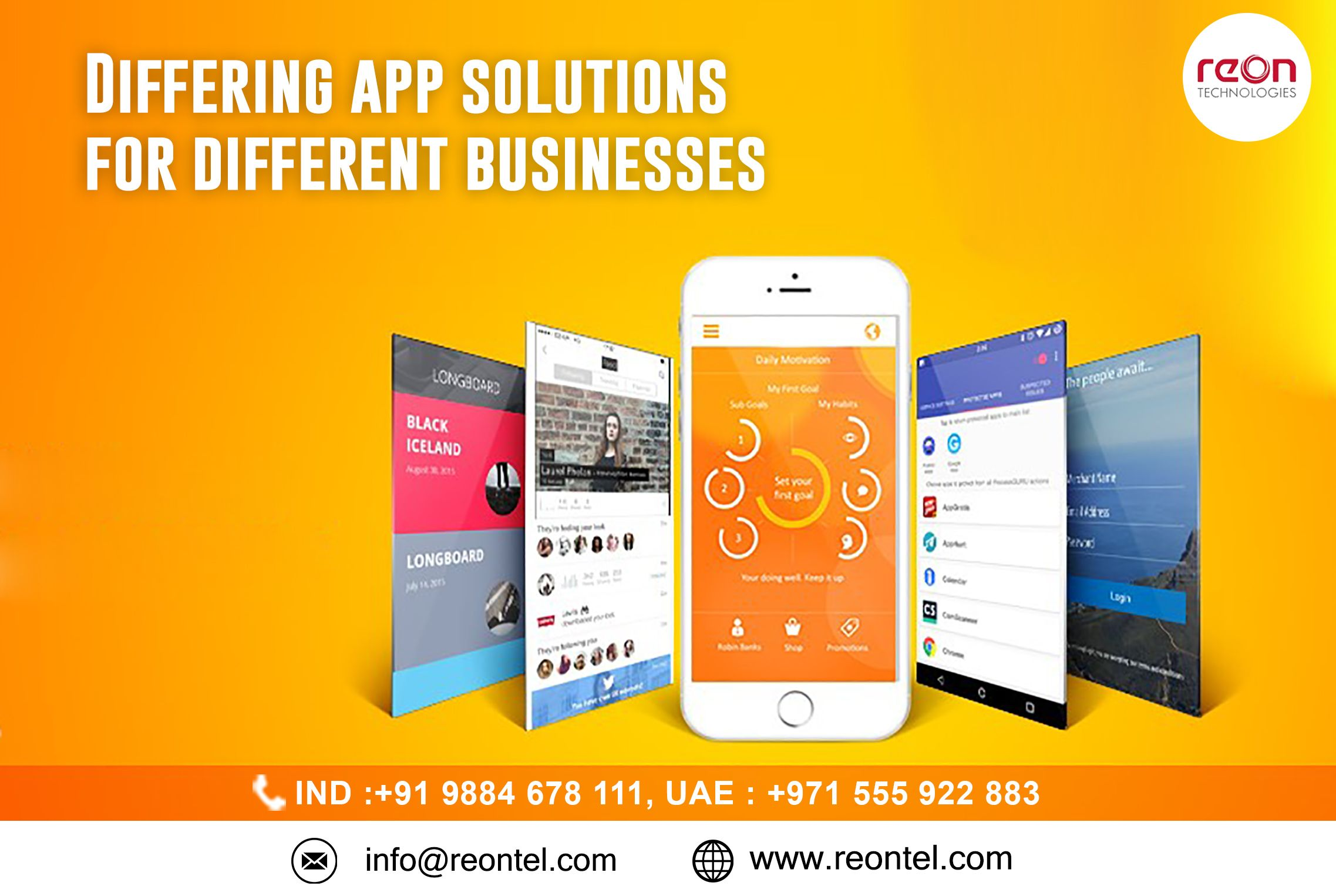 we create highly polished differing mobile apps that help