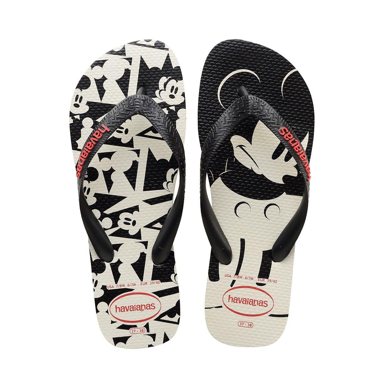 aa87ecce0182b1 HAVAIANAS DISNEY STYLISH SANDAL WHITE BLACK.  havaianas  shoes ...