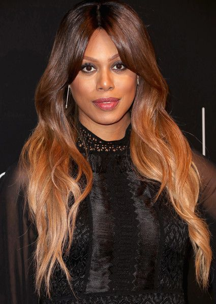 Actress Laverne Cox arrives at the Netflix FYSee Kick Off Event at Netflix FYSee Space.