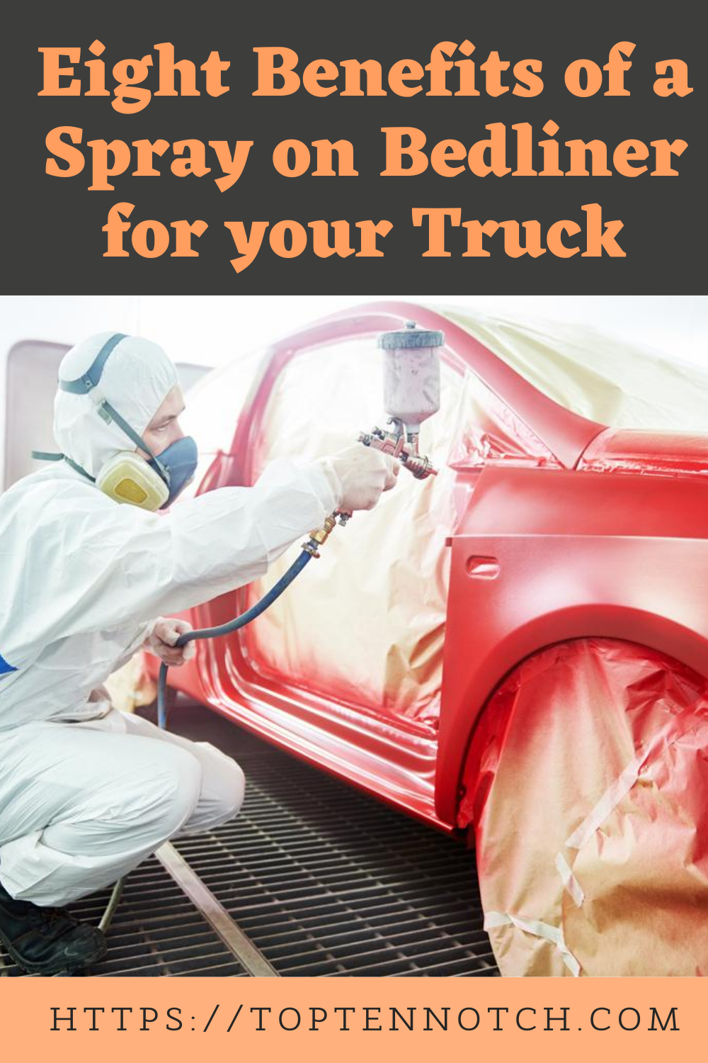 Eight Benefits of a Sprayon Bedliner for your Truck in