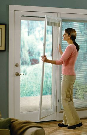 Add On Blinds Between The Glass For French Doors
