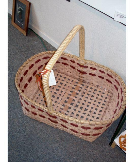 Handwoven Baskets :: Large Multi-Purpose Handmade Basket - OUR-WV.com - Product Description