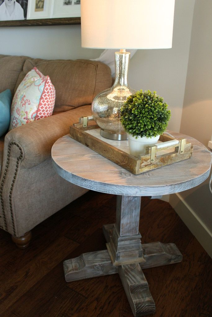 Round Side Table Table Decor Living Room Living Room Side Table