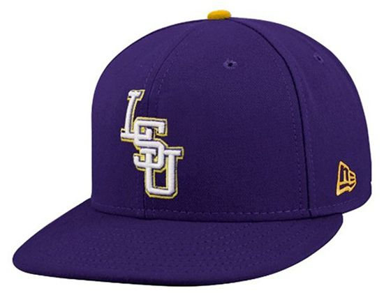 LSU fitted hat My College ee8e4703c78