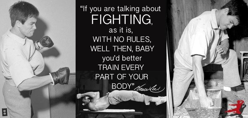 Family Fighting Quotes: Real Training Vs. I Only Need To Do This