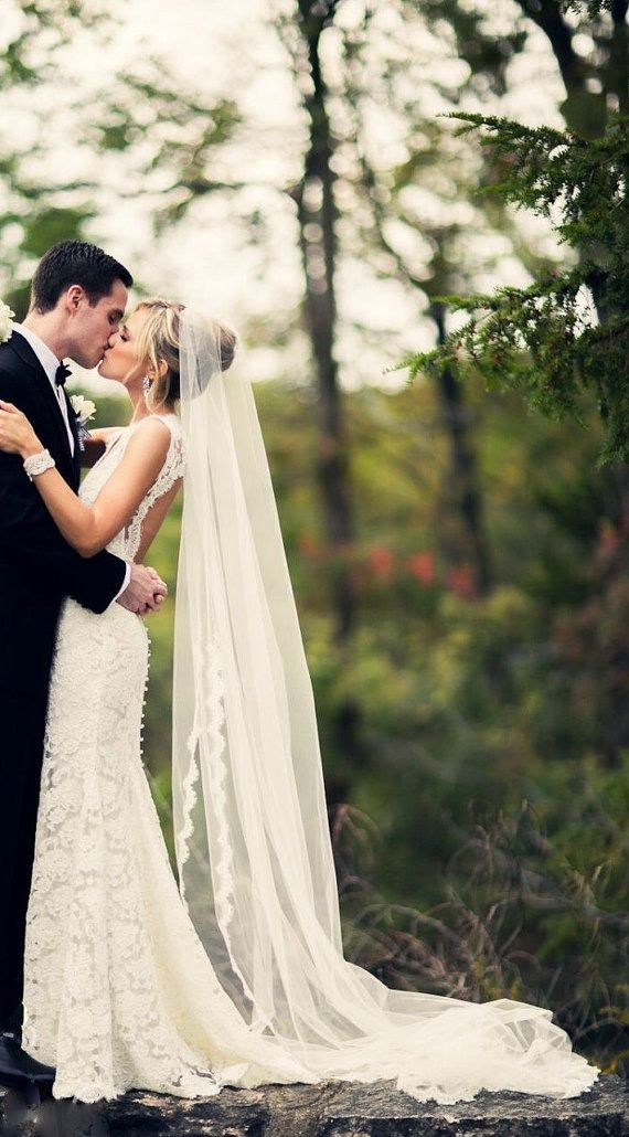 Cathedral Length Veil #wedding #bride #veil