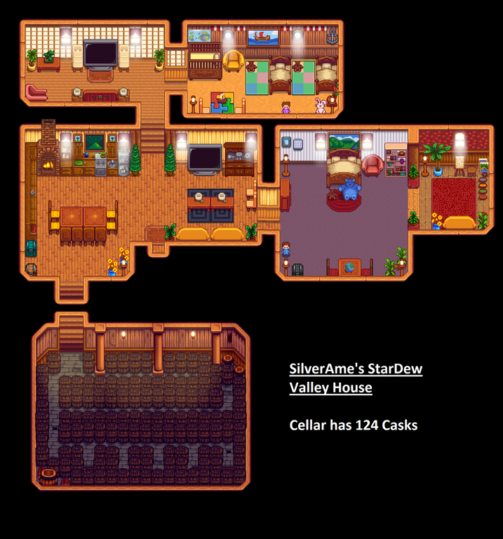 My Stardew Valley House Look Stardewvalley Stardew Valley