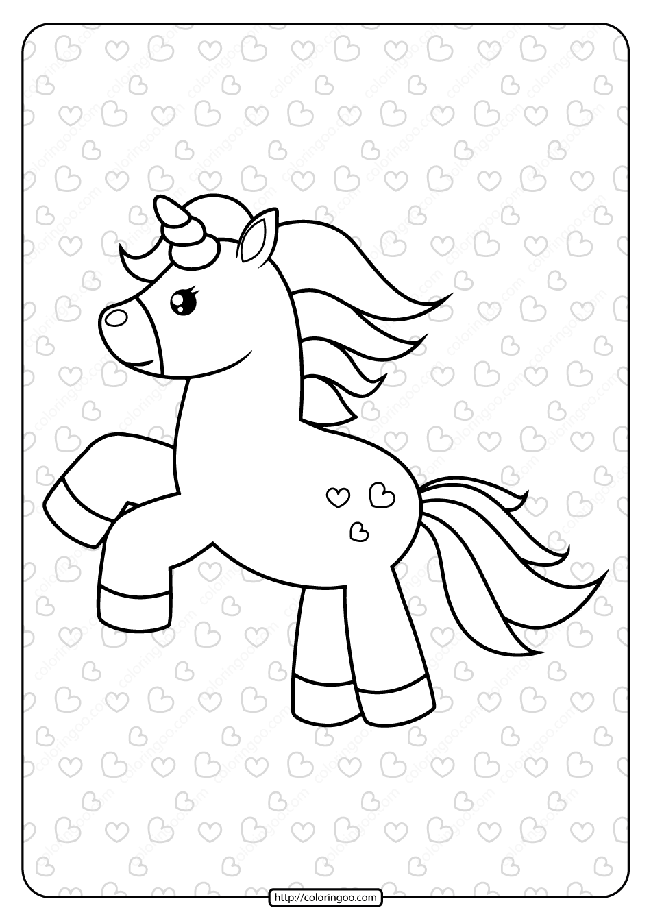 Free Printable Galloping Unicorn Coloring Page Unicorn Coloring Pages Coloring Pages Free Printables [ 1344 x 950 Pixel ]