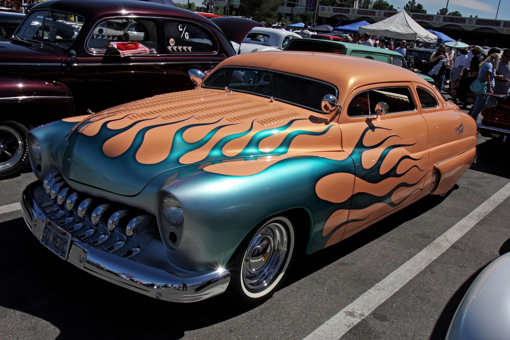 300+ Photos of Vintage American Iron from Viva Las Vegas | Cars