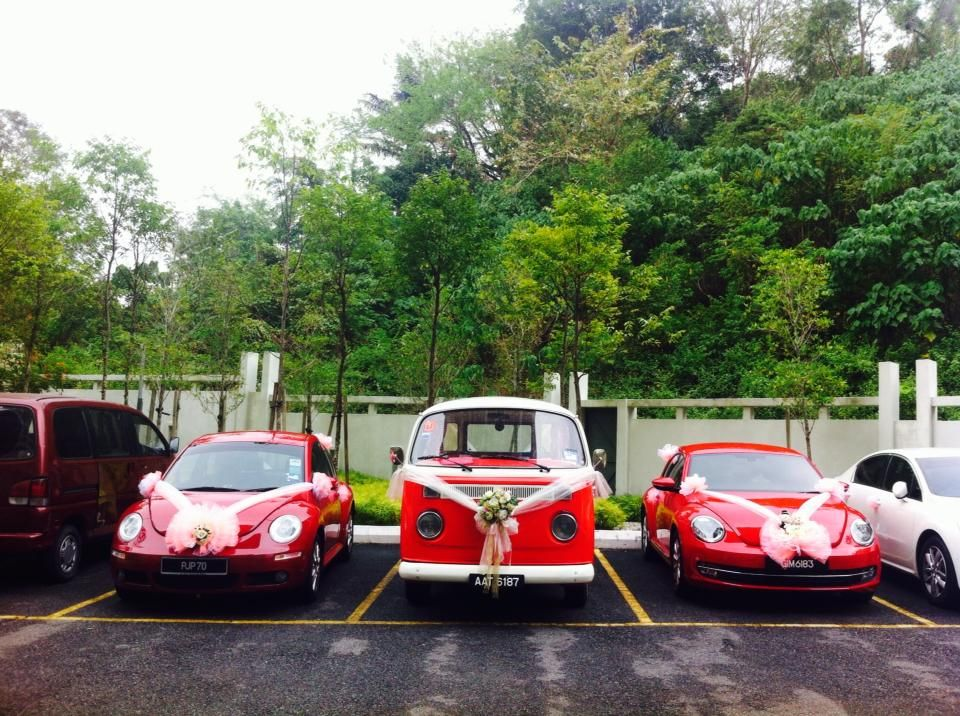 Classic Car And Model Beetle ...Classic wedding car for rent in ...