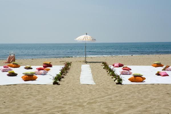 Una idea para vuestra boda en la playa