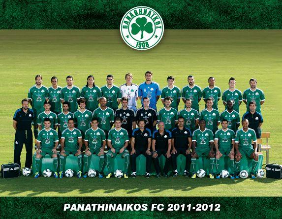 Panathinaikos Pinterest: Panathinaikos Football Team 2011-2012