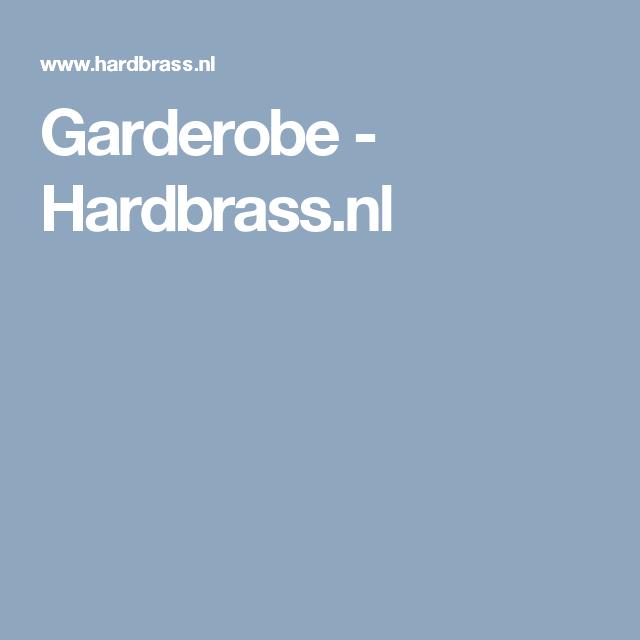 Garderobe  - Hardbrass.nl