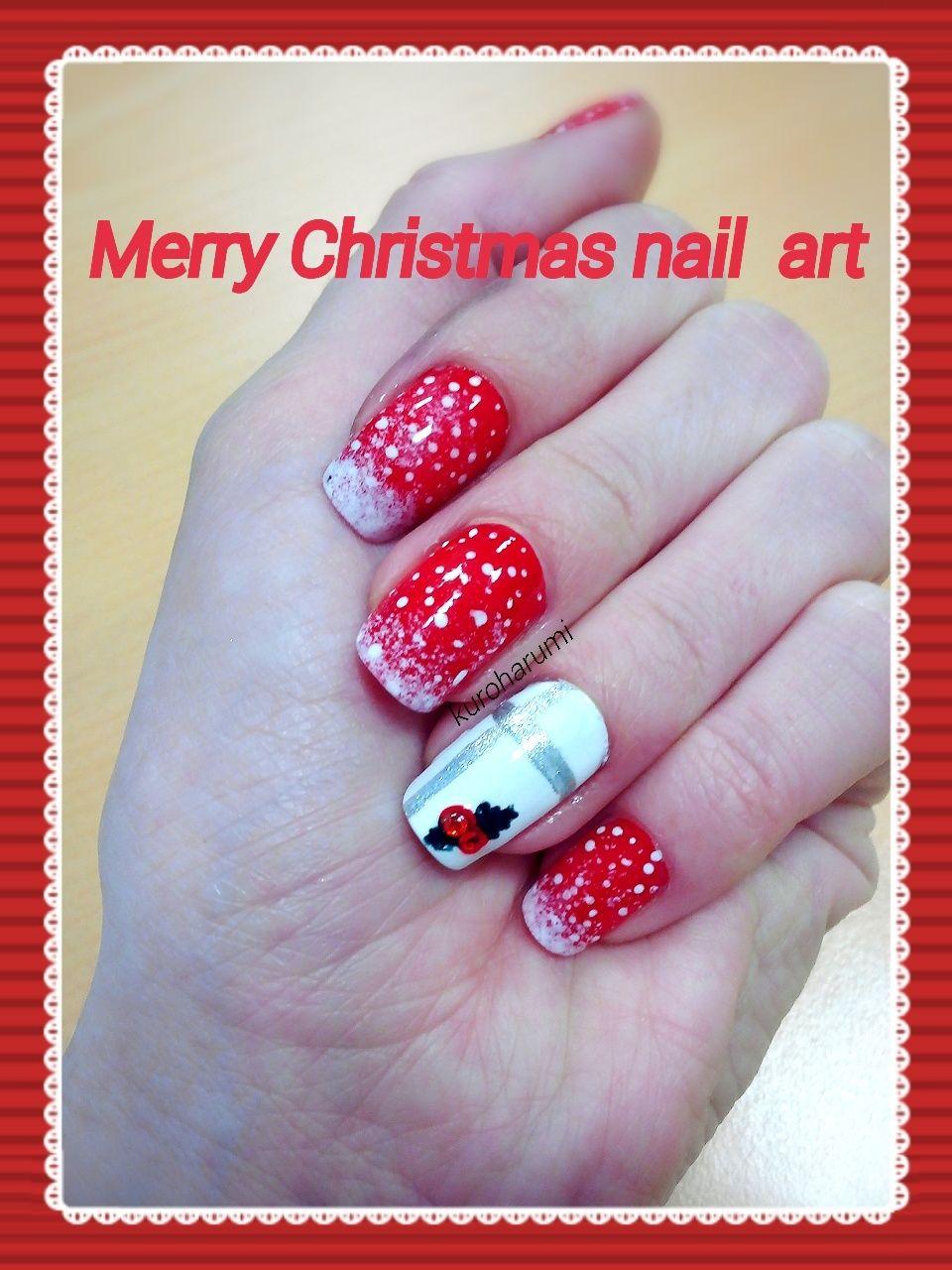 Christmas nail art | blog | Pinterest