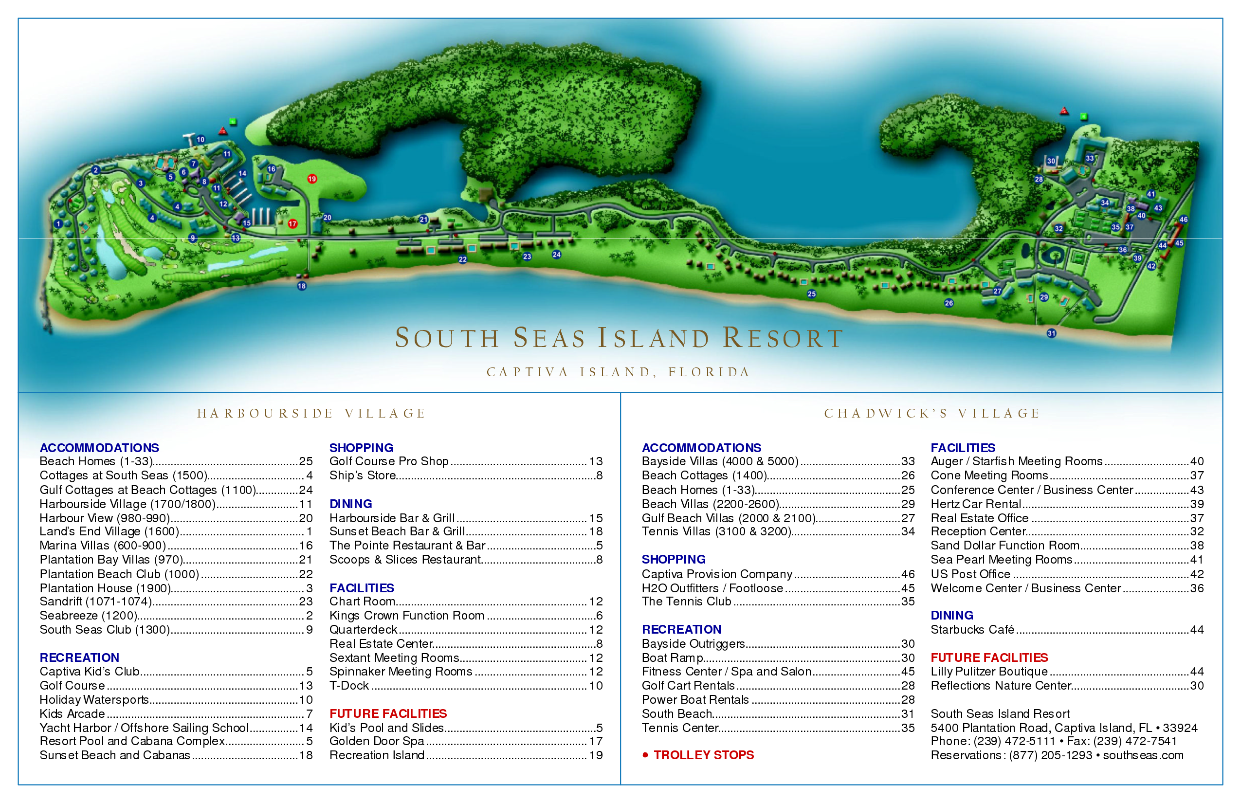 South Seas Island Resort Map Plantation Bay Villas at South Seas Island Resort map   Google