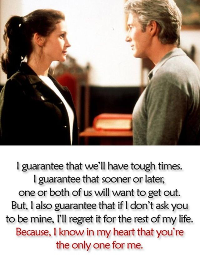 The best proposal I've ever heard... from my favorite movie