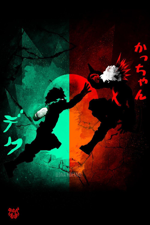 永遠のライバル in 2020 Hero wallpaper, Anime wallpaper, Anime art