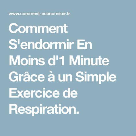 Comment S'endormir En Moins d'1 Minute Grâce à un Simple Exercice de Respiration.