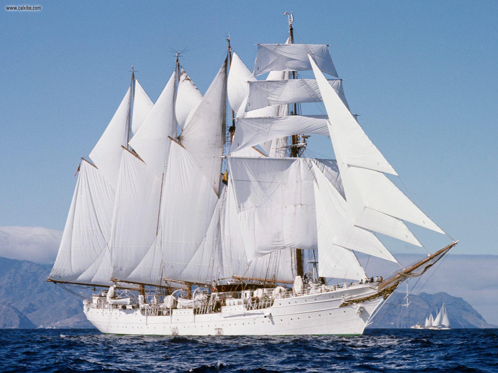 """""""Juan Sebastian De Elcano"""" Buque Escuela de la Armada Española , Spanish Navy"""