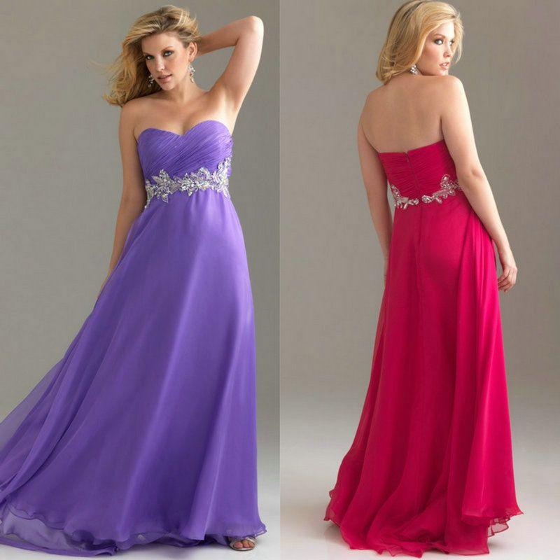 imagenes de vestidos elegantes para gorditas tamaño más vestido de ...