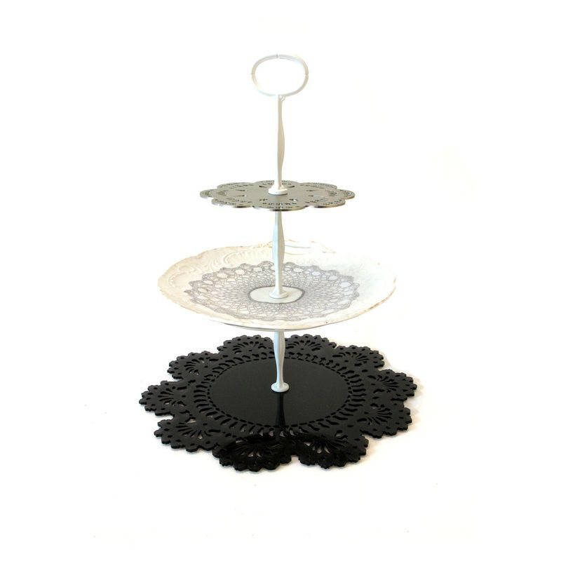Cordón moderno stand de pastel ecléctica de Imogen Luddy