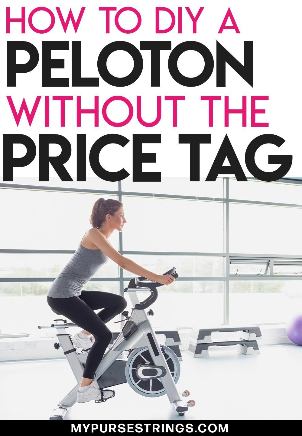 How To Use The Peloton Digital App With Any Spin Bike Biking Workout Stationary Bike Workout Workout For Beginners