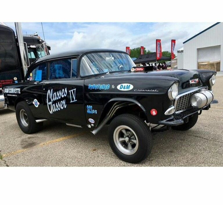 55 Chevy Gasser   Cars   1955 chevy, Drag cars, Old school