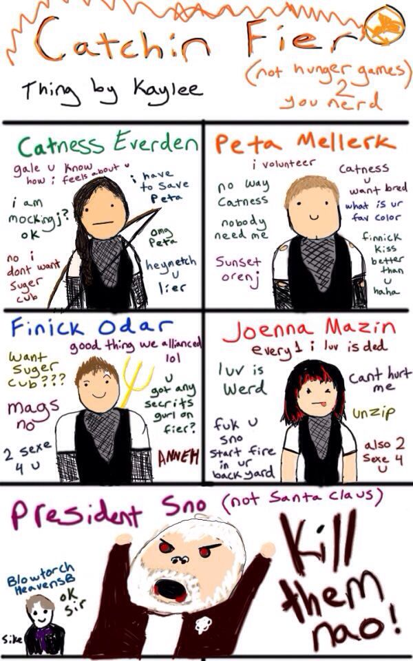 Lol haha funny pics pictures hunger games humor catching lol haha funny pics pictures hunger games humor catching fire fan art spelt some of the names wrong voltagebd Gallery