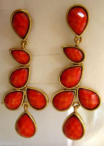 Amrita Singh Faceted Hamptons /'Dune/' Necklace in Coral Haze