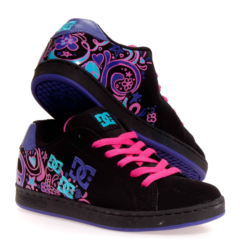 Skate shoes dc - Dc Pixie Doodle Women S Skate Shoes Black 7 5